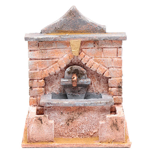 Fountain with pump 20x15x15 cm 1