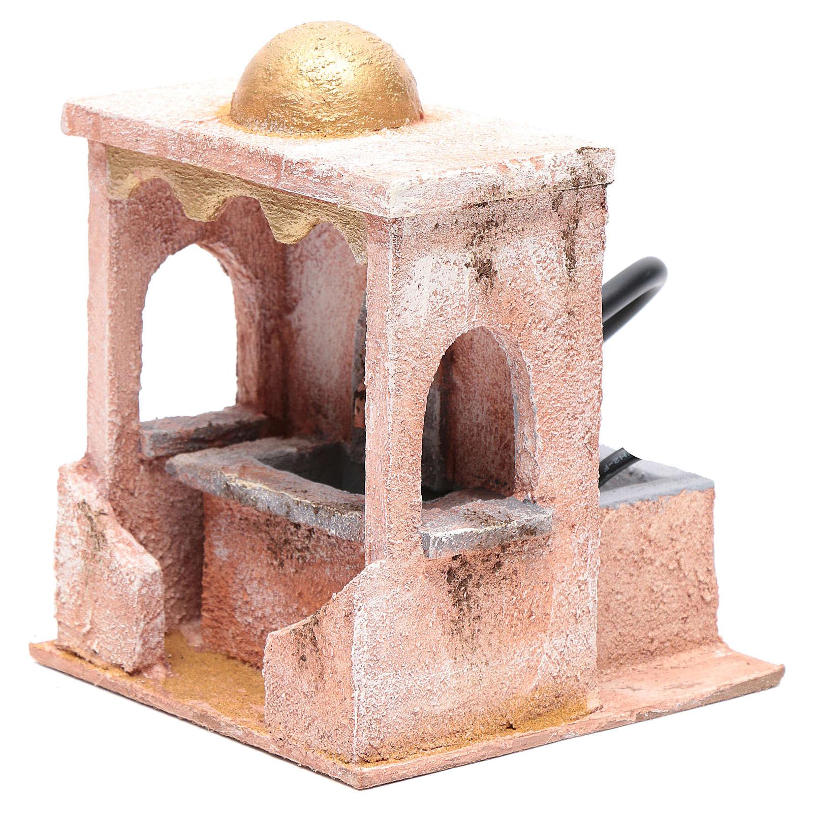 Fountain with pump 20x15x15 cm 4