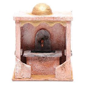 Fontaine avec pompe 20x15x15 cm mur pierre s1