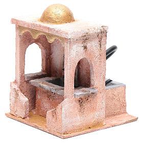 Fontaine avec pompe 20x15x15 cm mur pierre s2