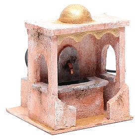 Fontaine avec pompe 20x15x15 cm mur pierre s3