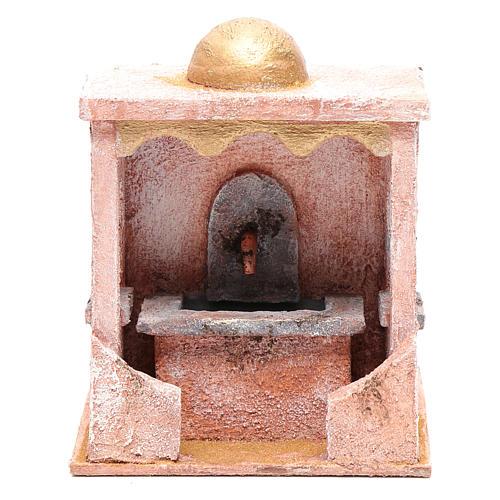 Fontaine avec pompe 20x15x15 cm mur pierre 1