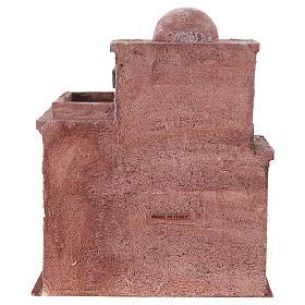 Casetta di stile arabo con terrazza 30x25x15 cm s4