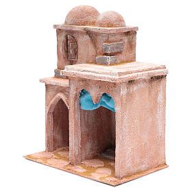 Casetta di stile arabo con terrazza 35x30x20 cm s2