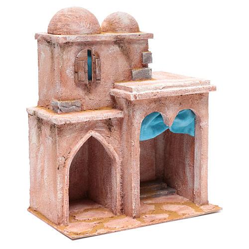 Casetta di stile arabo con terrazza 35x30x20 cm 3
