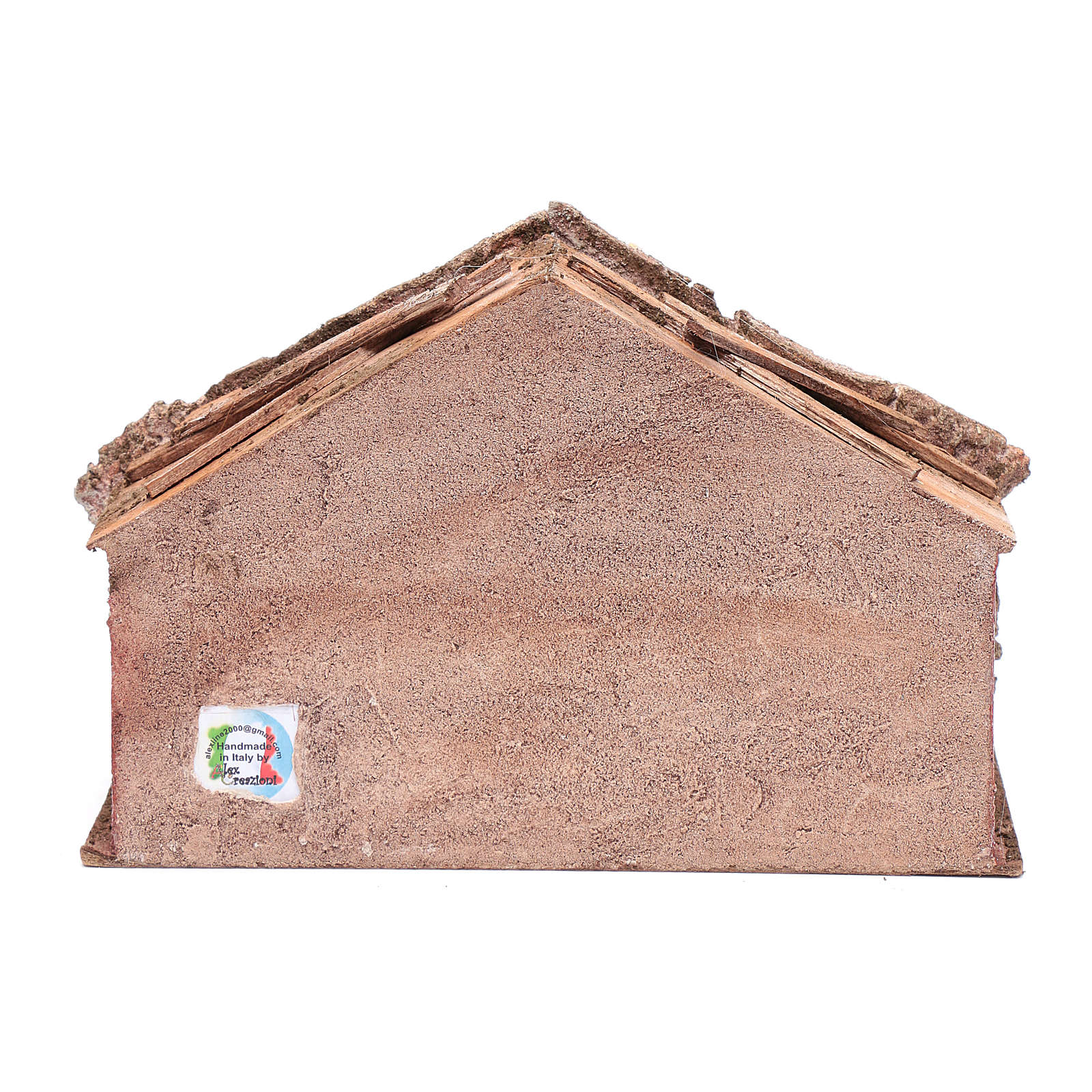 Capanna con scaletta a pioli 20x30x15 cm 4