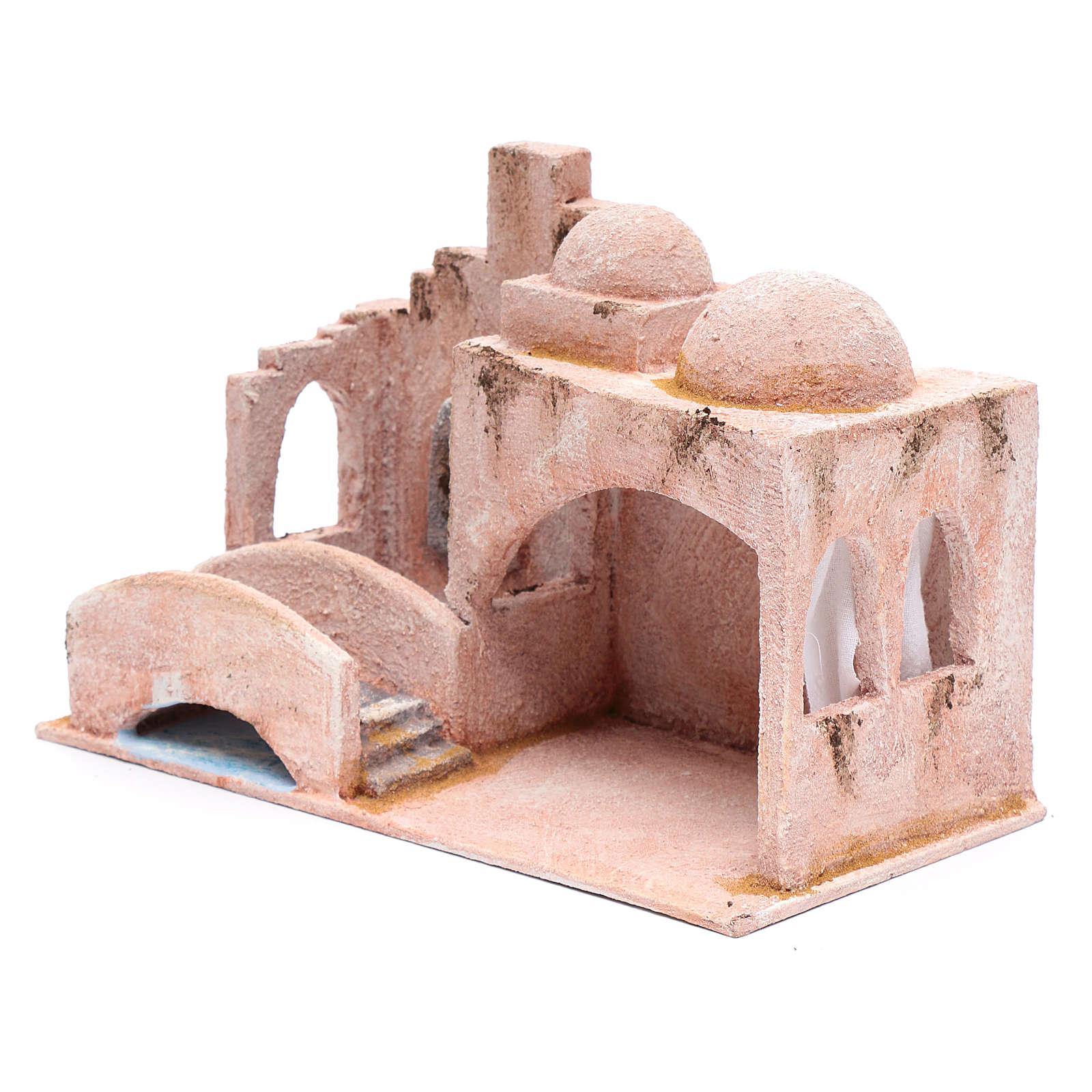 Cabaña de estilo árabe con estanque 18,5x29x15 cm 4