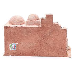 Capanna stile arabo con laghetto 18,5x29x15 presepe 10 cm s4