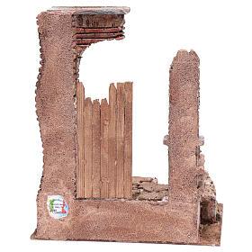 Temple colonnes en briques 30x25x20 cm s4