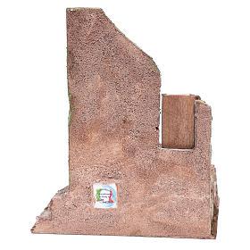 Tempio con mezzo arco e finestra 30x25x20 cm s4