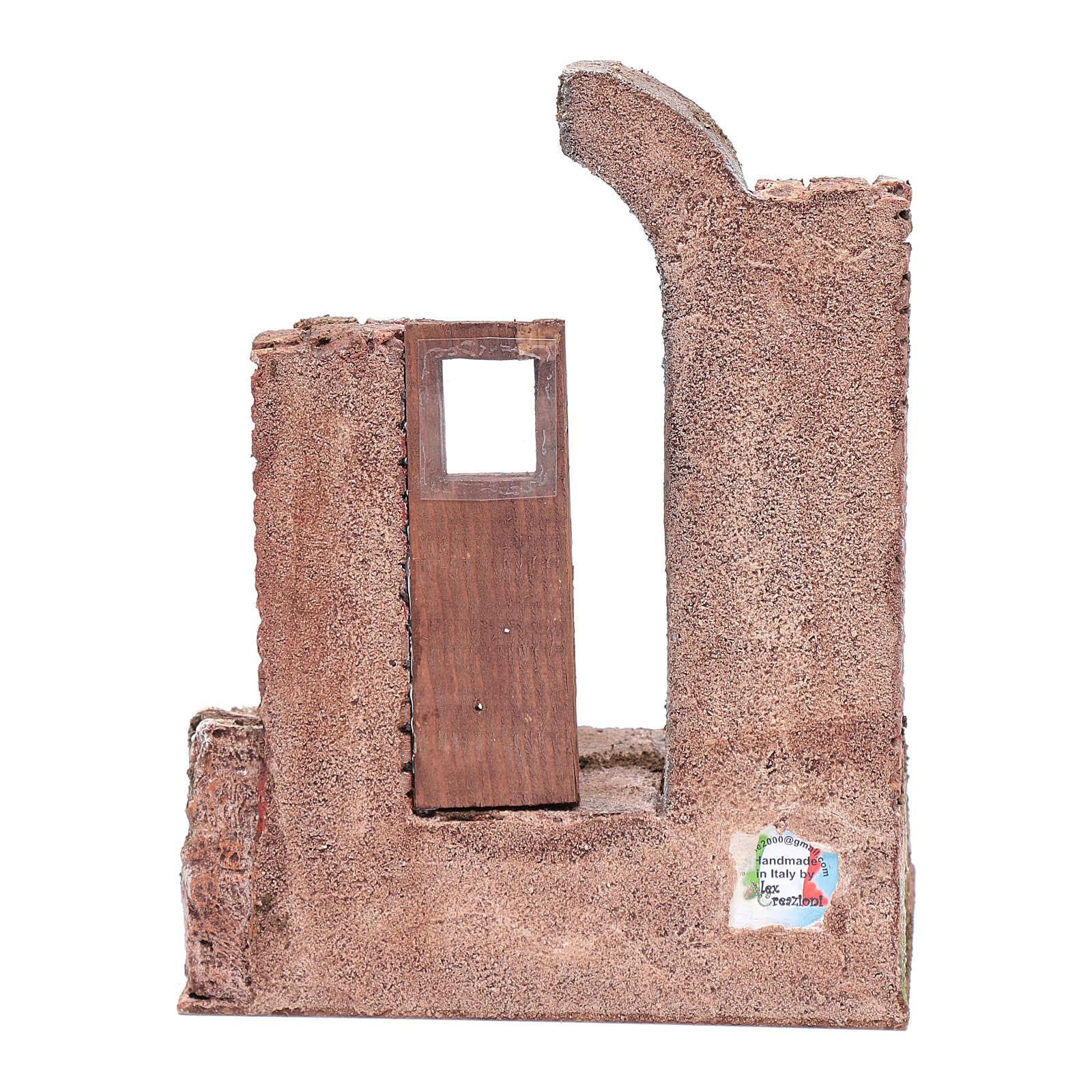 Temple porte et demi-arc 25,5x19,5x14,5 cm 4