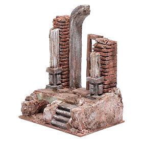 Temple porte et demi-arc 25,5x19,5x14,5 cm s2