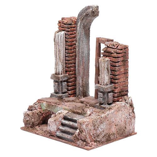 Temple porte et demi-arc 25,5x19,5x14,5 cm 2