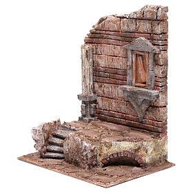 Rovine dell'ingresso del tempio 30x25x20 cm s2