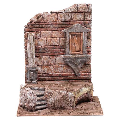 Rovine dell'ingresso del tempio 30x25x20 cm 1