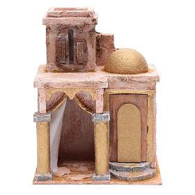 Tempio in stile arabo con stanza 25x20x15 cm presepe s1