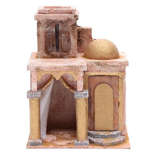 Tempio in stile arabo con stanza 25x20x15 cm presepe 1