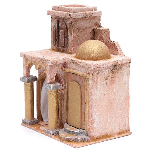 Tempio in stile arabo con stanza 25x20x15 cm presepe 2