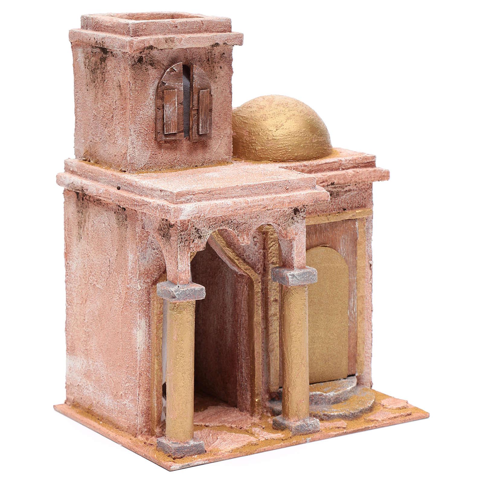 Tempio in stile arabo con stanzetta 30x25x20 cm 4