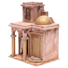 Tempio in stile arabo con stanzetta 30x25x20 cm s2