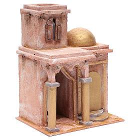 Tempio in stile arabo con stanzetta 30x25x20 cm s3