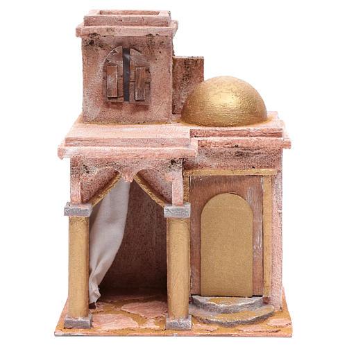 Tempio in stile arabo con stanzetta 30x25x20 cm 1
