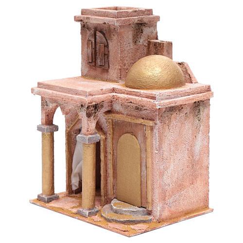 Tempio in stile arabo con stanzetta 30x25x20 cm 2