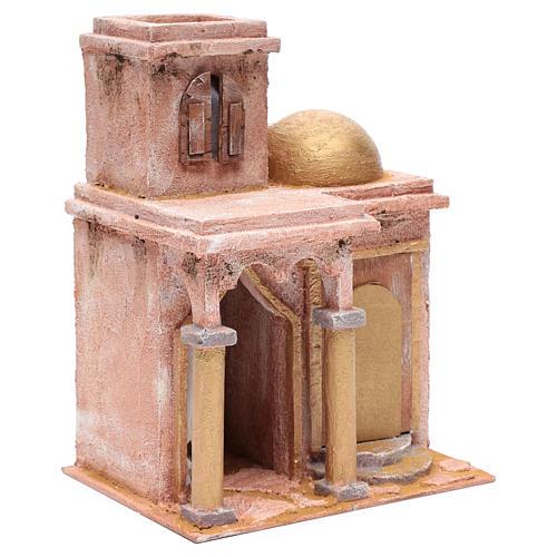 Tempio in stile arabo con stanzetta 30x25x20 cm 3