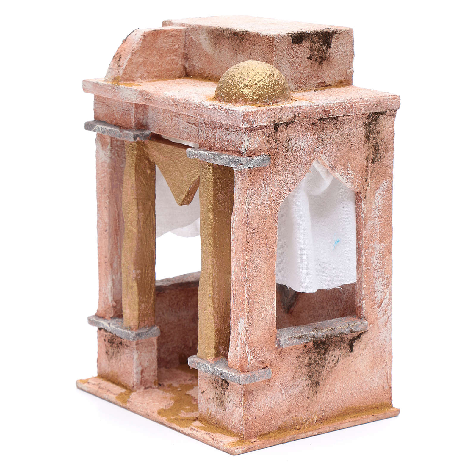 Arabian style temple with columns 25x20x15 cm 4