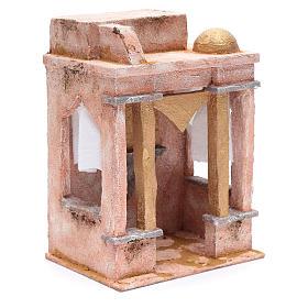 Tempio in stile arabo con colonne 25x20x15 cm s3