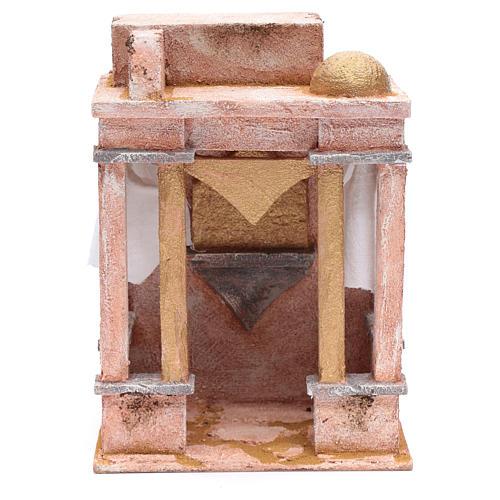 Tempio in stile arabo con colonne 25x20x15 cm 1