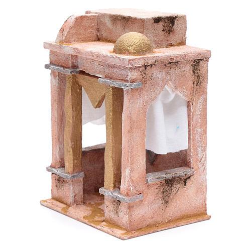 Tempio in stile arabo con colonne 25x20x15 cm 2