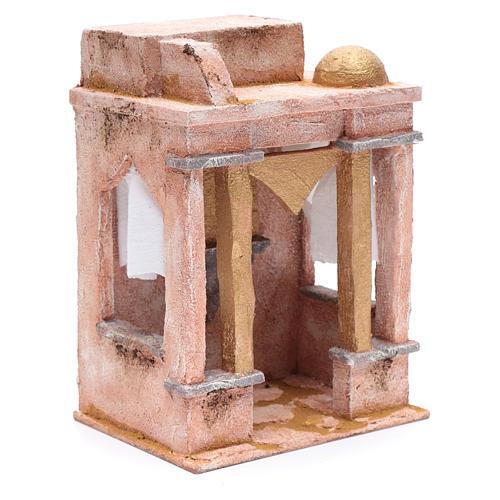 Tempio in stile arabo con colonne 25x20x15 cm 3