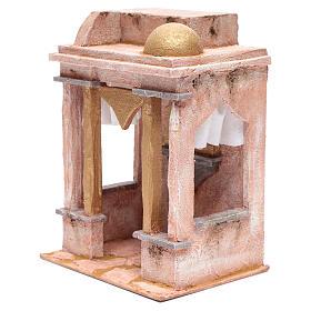 Tempio stile arabo con colonne 30x25x20 cm s2