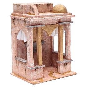 Tempio stile arabo con colonne 30x25x20 cm s3