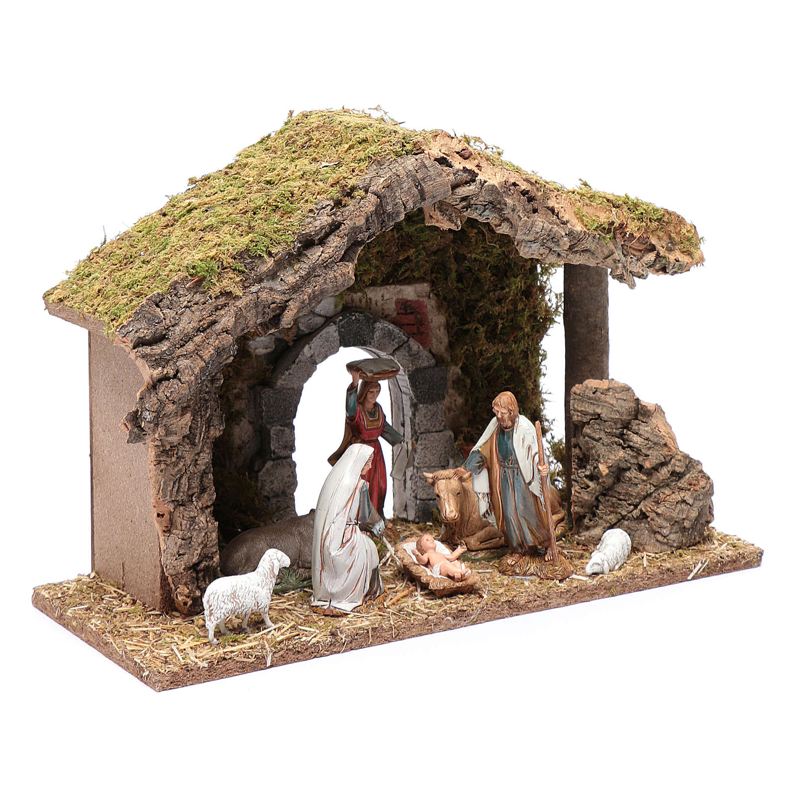 Hut with gypsum arch 25x35x15 cm 4