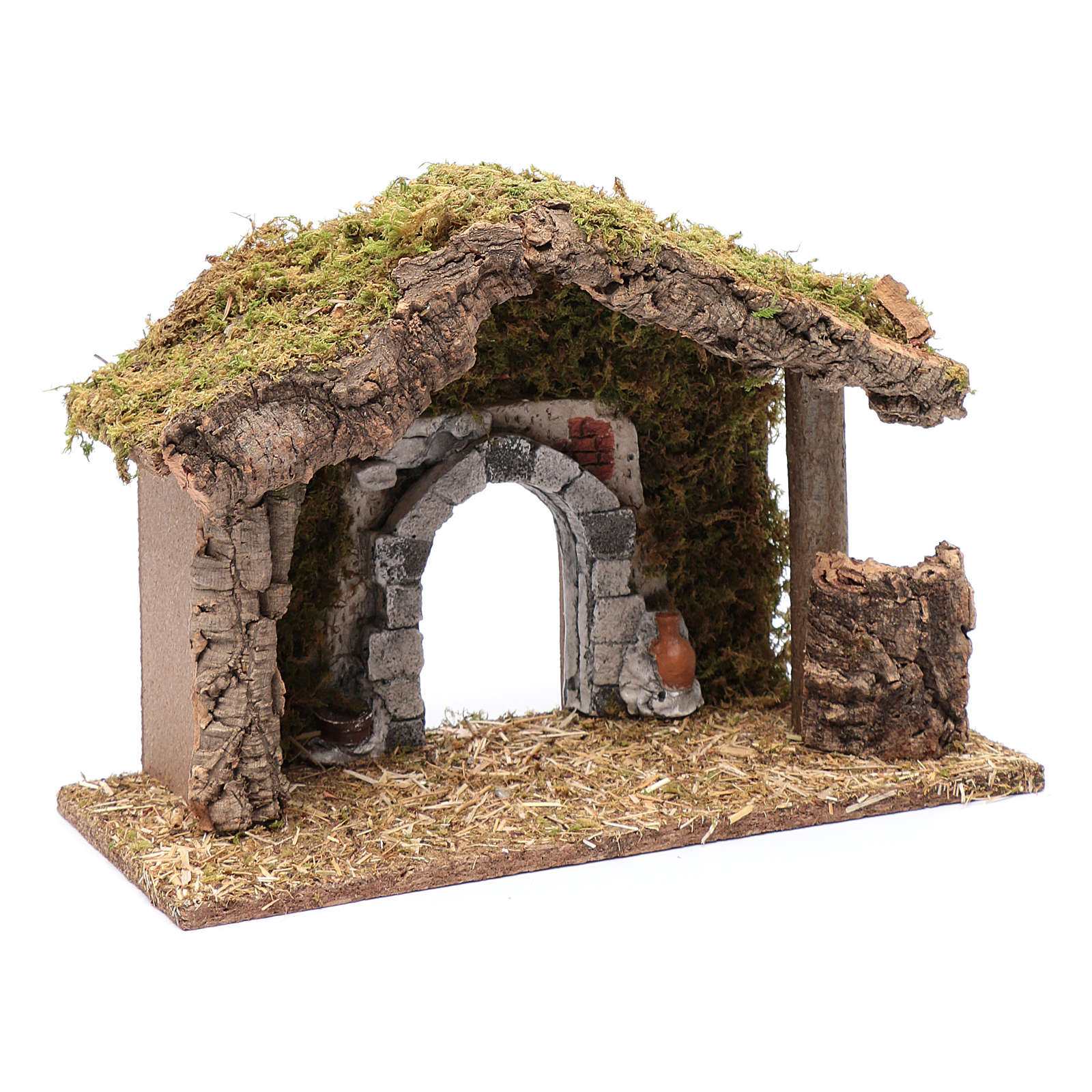 Hut with gypsum arch 25x35x15 cm 4