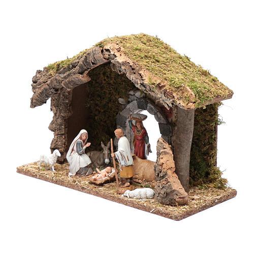 Hut with gypsum arch 25x35x15 cm 2