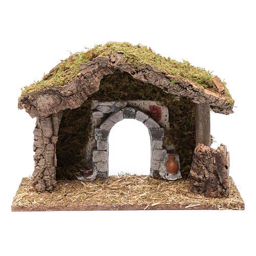 Hut with gypsum arch 25x35x15 cm 5
