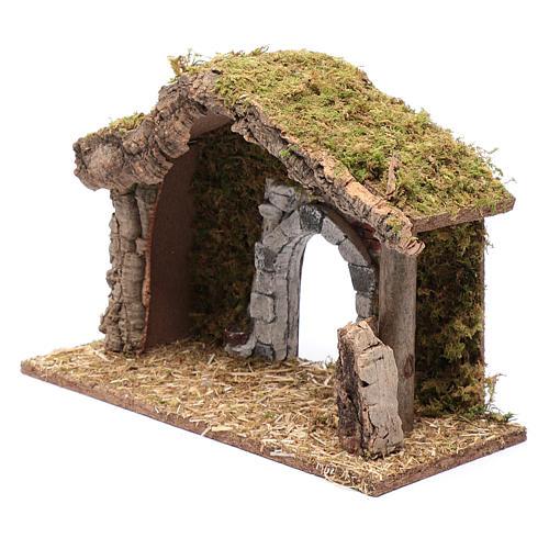 Hut with gypsum arch 25x35x15 cm 6