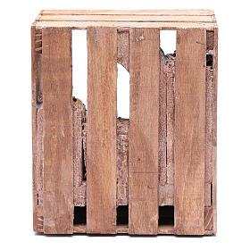 Capanna per presepe in legno 20x15x15 per statue 10 cm s4