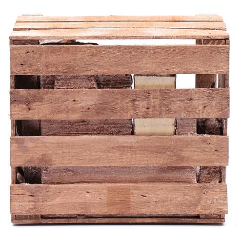 Cabane dans caisse en bois 17x19x13,5 cm 4