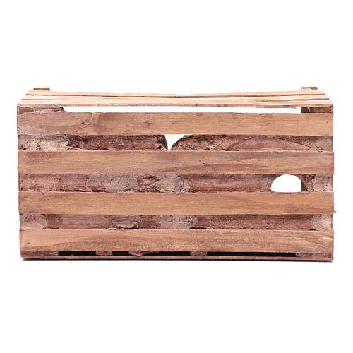 cave in wooden box for nativity scene 20x35x15 cm 8