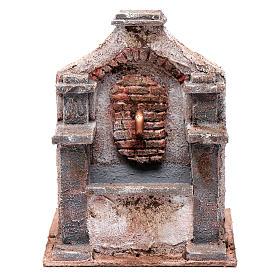 Fontaine en polystyrène pour crèche 20x14,5x14,5 cm s1