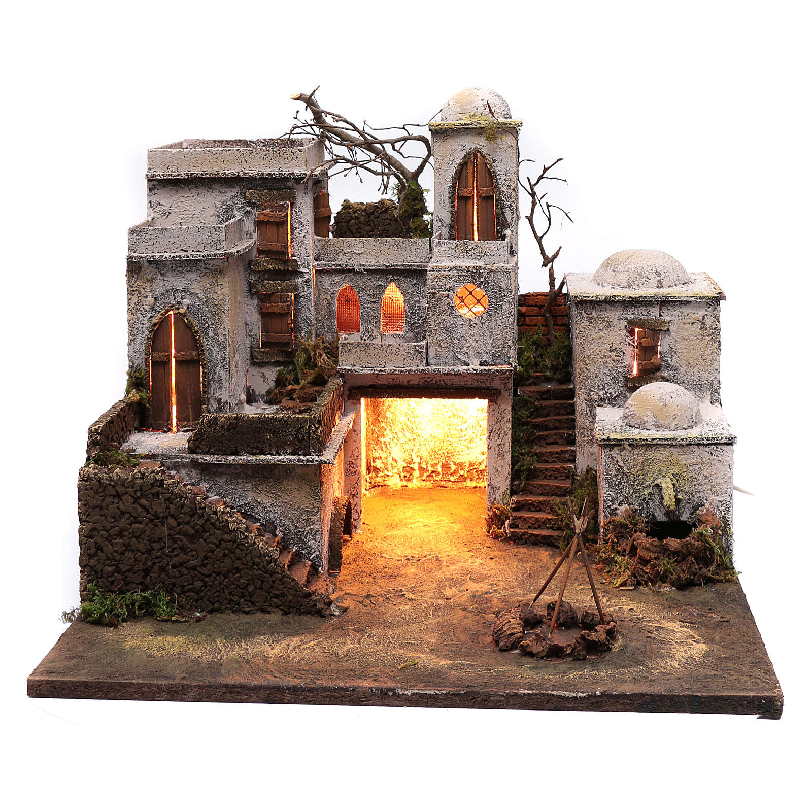 Arabian style house 40x50 cm for 11 cm statues 4