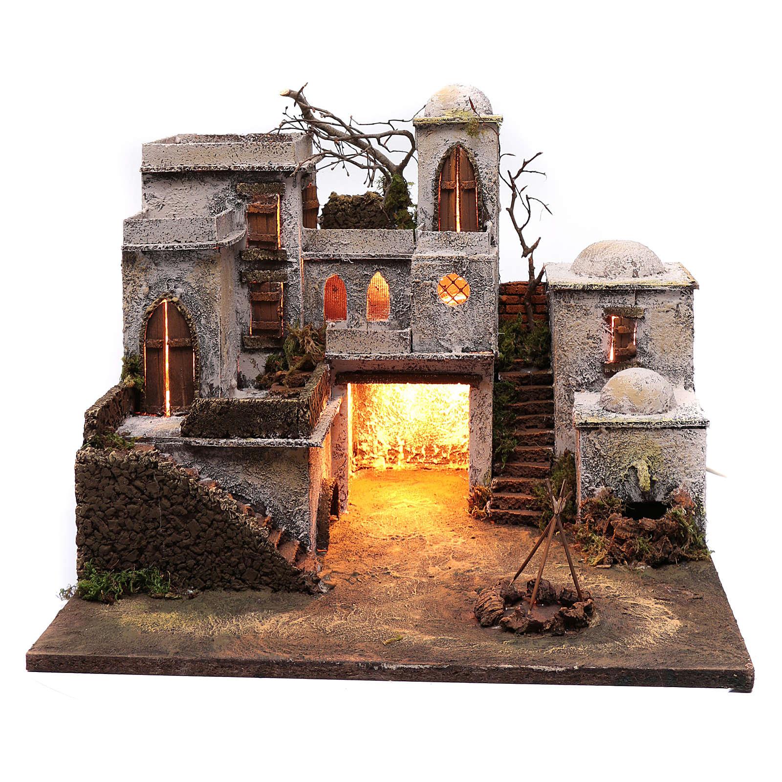 Casa stile arabo 40x50 per statuina 11 cm 4