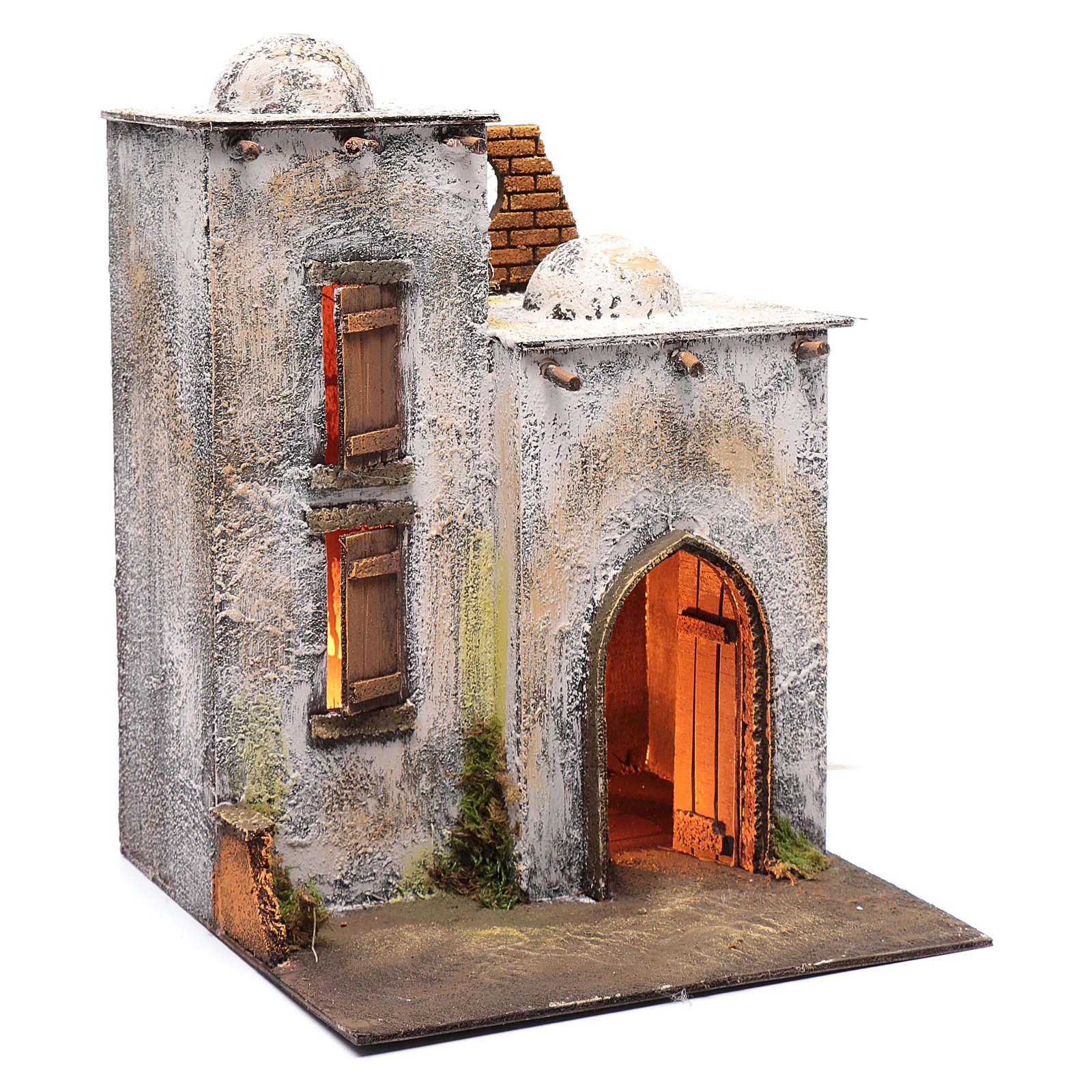 Arabian style house for Neapolitan nativity scene 4