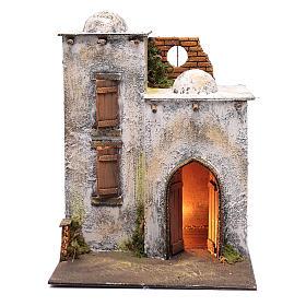 Arabian style house for Neapolitan nativity scene s1