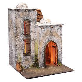 Arabian style house for Neapolitan nativity scene s3