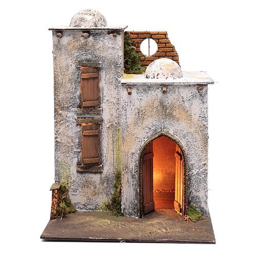 Arabian style house for Neapolitan nativity scene 1